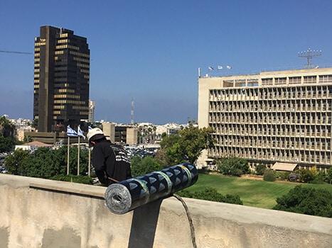 איטום גגות בתל אביב
